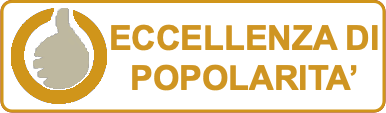 Certificato di eccellenza Oro di ANGELO PINTUS