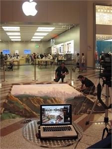 Foto di Madonnari 3D 3D Street Painting