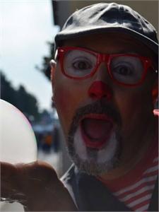 Foto di Ziopasticcio il clown delle bolle